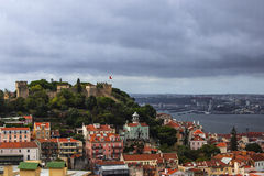Castelo de Sao jeorge Arkivfoto
