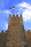 The Castelo de Sao Jorge Stock Photo