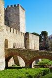 Castelo de Sao Jorge in Lisbon Stock Photo
