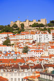 Castelo de Sao Jorge, Lisbon Royalty Free Stock Photo