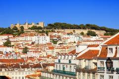 Castelo de Sao Jorge, Lisbon Royalty Free Stock Image