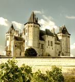 Castelo de Saumur fotografia de stock