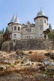 Castelo de Savoia em Gressoney Fotografia de Stock Royalty Free