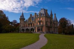 Castelo de Schadau Fotos de Stock Royalty Free