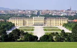 Castelo de Scheonbrunn, Viena Imagens de Stock Royalty Free