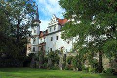 Castelo de Schkopau Fotografia de Stock Royalty Free