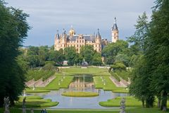 Castelo de Schwerin Fotos de Stock