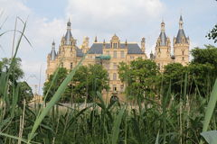 Castelo de Schwerin foto de stock royalty free