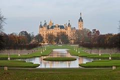 Castelo de Schwerin, Alemanha Fotografia de Stock Royalty Free