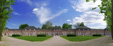 Castelo de Schwetzingen Foto de Stock