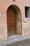 Castelo de Scipione. Salsomaggiore Terme. Emilia-Romagna. Itália. fotografia de stock royalty free