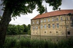 Castelo de Senden em Alemanha Imagens de Stock