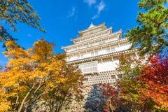 Castelo de Shimabara, Japão imagens de stock