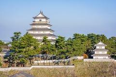 Castelo de Shimabara, Nagasaki, Japão imagem de stock royalty free