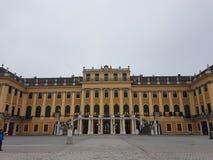 Castelo de Shonbrunn Fotos de Stock Royalty Free