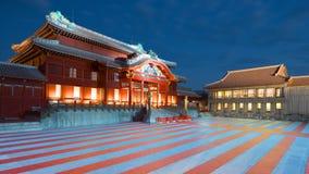 Castelo de Shuri em Okinawa imagem de stock royalty free