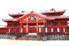 Castelo de Shurijo imagem de stock royalty free
