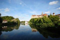 Castelo de Sigmaringen foto de stock
