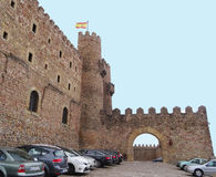 Castelo de Siguenza Imagens de Stock Royalty Free