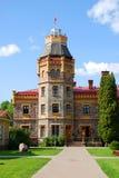 Castelo de Sigulda, Latvia foto de stock