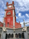 Castelo de Sintra, palácio nacional de Pena foto de stock royalty free