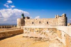Castelo de Siracusa imagem de stock