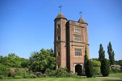 Castelo de Sissinghurst em Kent em Inglaterra no verão imagem de stock royalty free