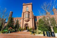 Castelo de Smithsonian Institution imagem de stock