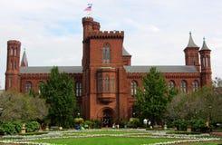 Castelo de Smithsonian Institution, Washington DC fotografia de stock royalty free