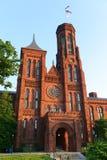 Castelo de Smithsonian no Washington DC, EUA Fotografia de Stock Royalty Free