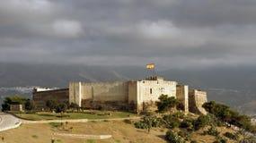 Castelo de Sohail, Fuengirola, Spain Fotografia de Stock Royalty Free