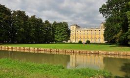 Castelo de Sommi Picenardi, província de Cremona, Italy imagens de stock