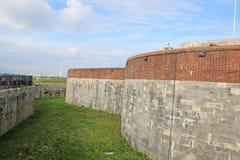 Castelo de Southsea, Hampshire imagens de stock