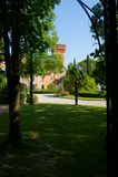 Castelo de Spessa fotos de stock