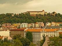 Castelo de Spilberk Foto de Stock