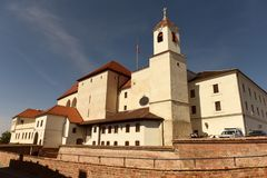 Castelo de Spilberk em Brno, república checa Foto de Stock Royalty Free