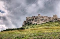 Castelo de Spis imagem de stock