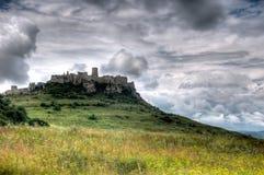 Castelo de Spis imagens de stock