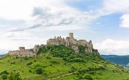 Castelo de Spis Foto de Stock Royalty Free