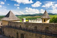 Castelo de Stara Lubovna, Eslováquia foto de stock royalty free