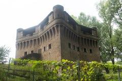 Castelo de Stellata (Ferrara) Imagens de Stock