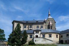 Castelo de Sternberk, república checa, lugar público, monumento cultural nacional imagens de stock
