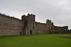 Castelo de Tantallon uma fortaleza do século XIV em Escócia Imagem de Stock Royalty Free