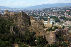 Castelo de Tbilisi Fotografia de Stock Royalty Free