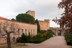 Castelo de Templar Fotografia de Stock Royalty Free
