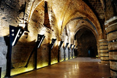 Castelo de Templar do cavaleiro imagens de stock royalty free