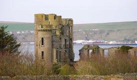 Castelo de Thurso fotografia de stock royalty free