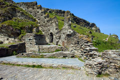 Castelo de Tintagel Imagem de Stock Royalty Free