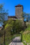 Castelo de Tirol Imagens de Stock Royalty Free
