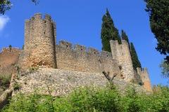 Castelo de Tomar Imagem de Stock Royalty Free